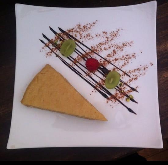 Dessert : Le Gandhara  - Gâteau de semoule -