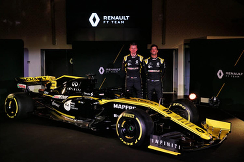 Renault F1: les photos de la RS19, objectif podium?