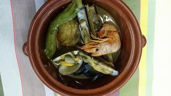 Auberge du Bon Vivant  - cassolette de fruits de mer -