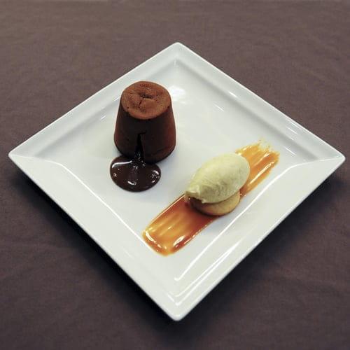 """A Cantina  - Notre fameuse """"dariole au chocolat"""" -   © Vincent Jacques"""