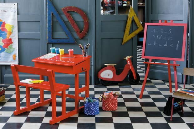 Un bureau d écolier