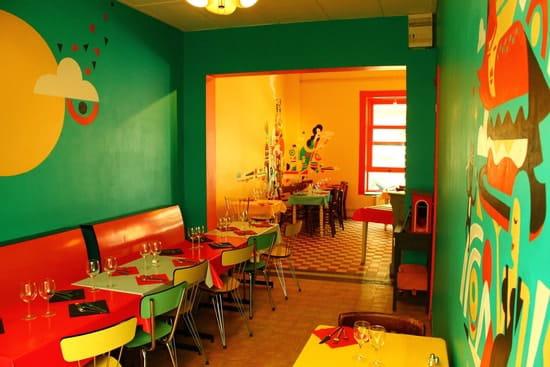 La Dinette  - Salle bleue -   © La Dinette