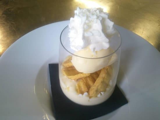Dessert : Talaia  - Gâteau basque en verrine  -