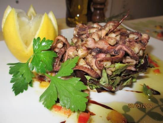 L'Hippocampe (Vieux Port)  - Salade de Poulpe -