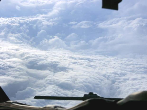Katrina vue du ciel