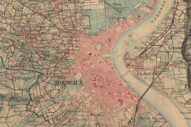 Bordeaux en 1866