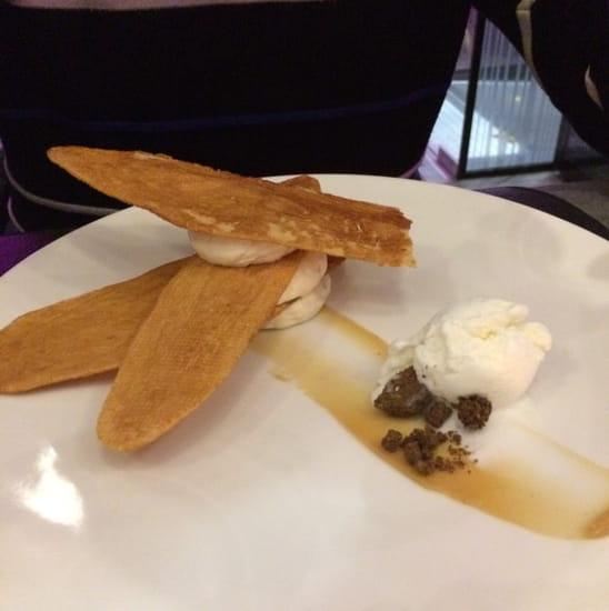 Dessert : le 58  - Tres decus par ce soi disant mille feuilles -