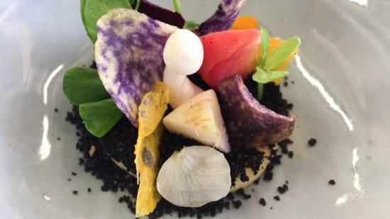 Entrée : Le H - Restaurant  - Le Jardin de Légumes -   © LE H