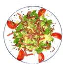 La Guinguette du Moulin  - Salade grenobloise -   © fred lutz