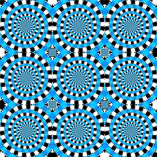 Illusions d'optique: le top 50des meilleures créations de Kitaoka Akiyoshi