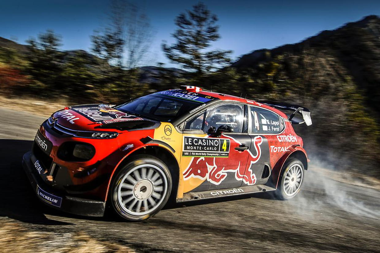 rallye monte carlo 2019 loeb devanc ogier reste leader direct. Black Bedroom Furniture Sets. Home Design Ideas