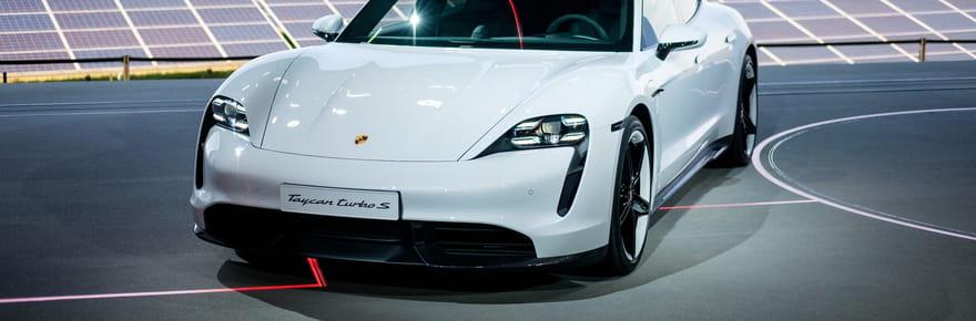 La première Porsche électrique en images