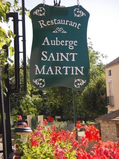 Auberge Saint Martin  - Auberge Saint Martin Bouilland -
