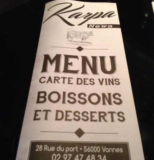 Restaurant : Karpa