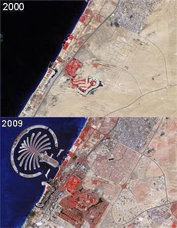 en moins de 10 ans, dubaï s'est considérablement développée et a même colonisé
