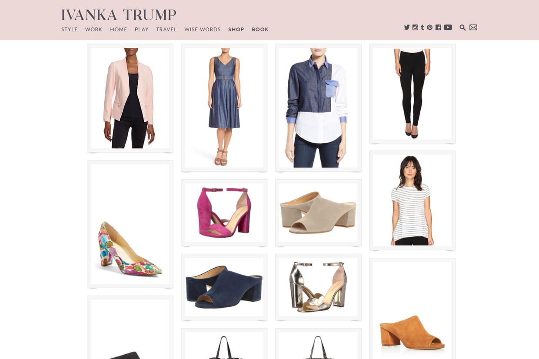 Ivanka Trump : à quoi ressemblent les vêtements créés par la fille de ...