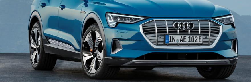 Audi e-tron: le SUV électrique dévoilé, il sortira avant 2019[photos]