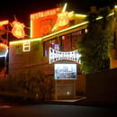 Route 66 Steak-House American grill  - exterieur nuit -   © p frobert