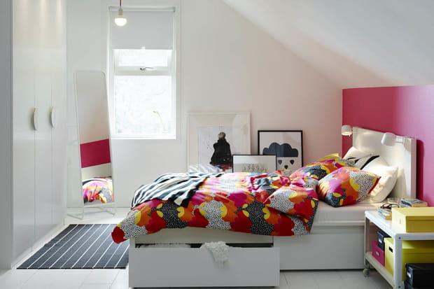 Une chambre colorée