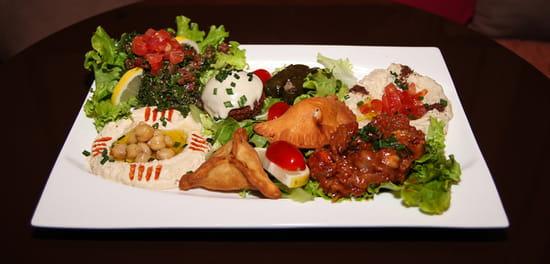 Plat : L'Officiel  - BYBLOS Végétarien -   © L'Officiel