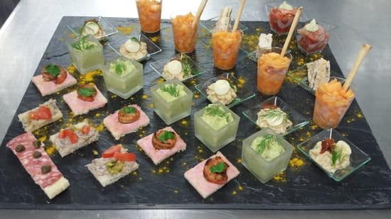 Brasserie du Casino la Palm'hyeres  - cocktail dinatoire réalisé par nos soins -   © chef