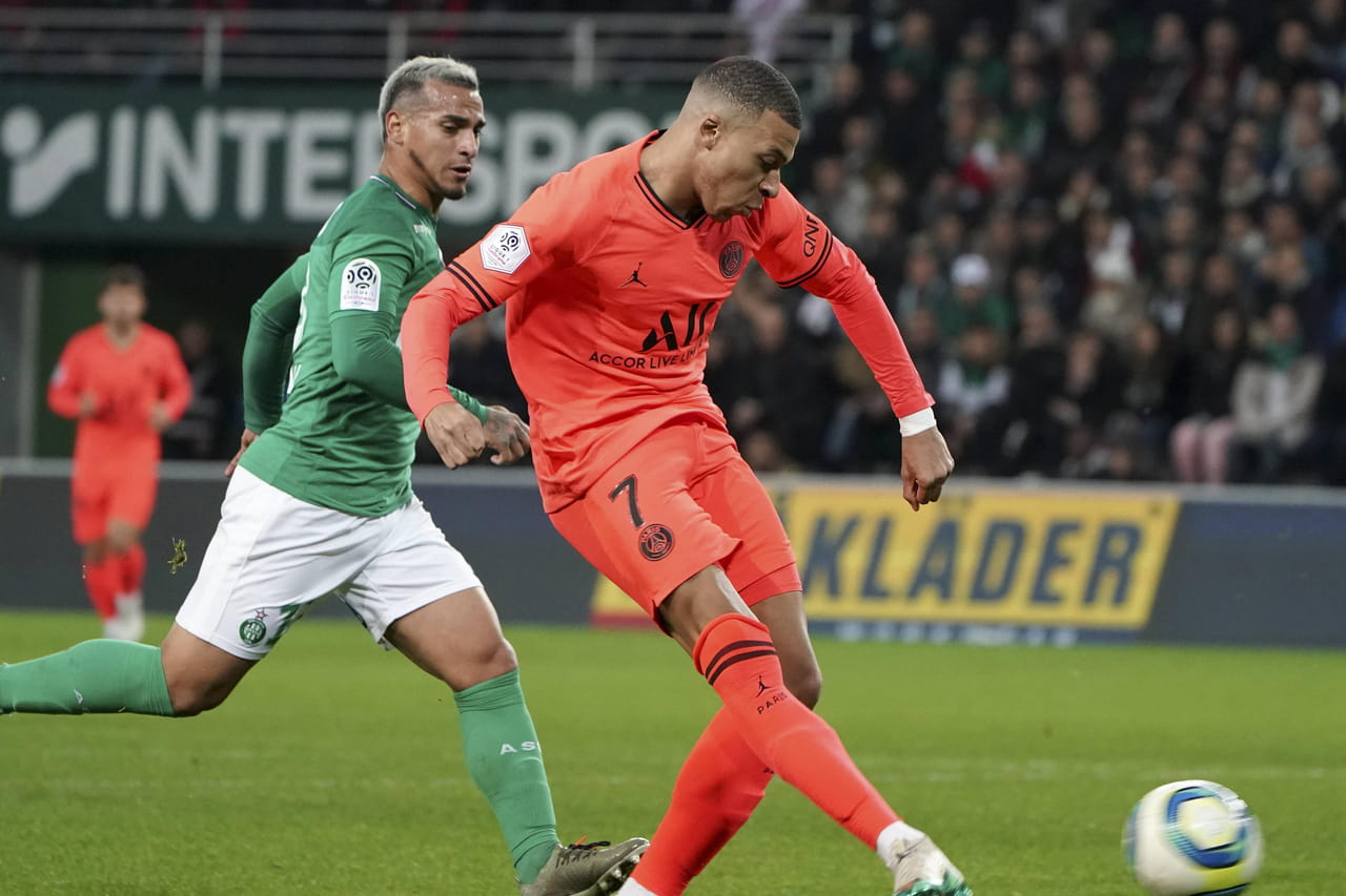 Saint-Etienne - PSG : Paris et Mbappé s'amusent, le match en direct