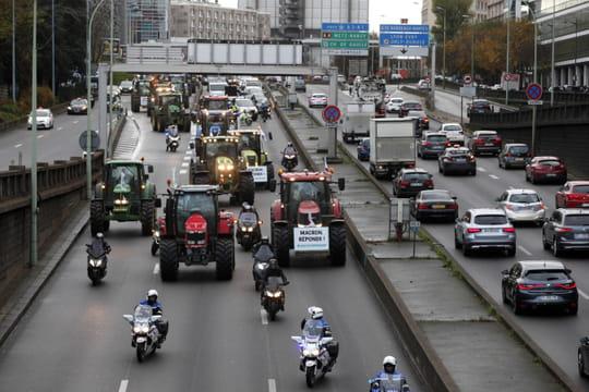 Manifestations des agriculteurs: levée des blocages sur le périphérique