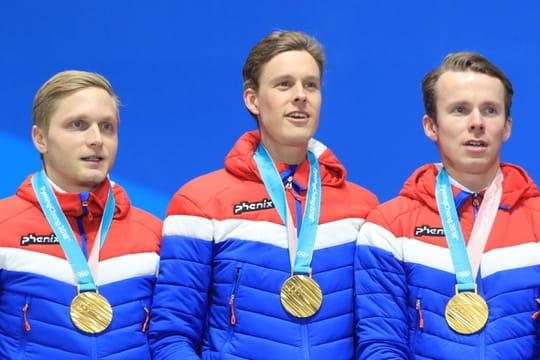 Tableau des médailles: la Norvège leader, le classement de la France