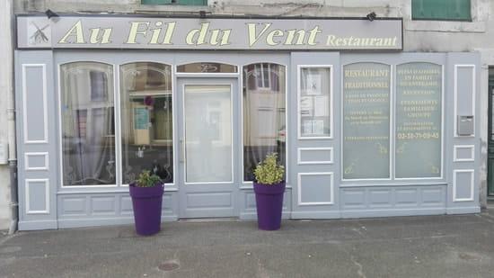 Restaurant : Au Fil du Vent  - Au Fil Du Vent -