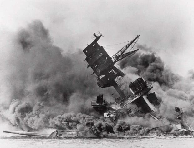 Le naufrage apocalyptique de l'USS Arizona