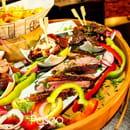 Plat : Le Paseo - Cocktail club & restaurant (Ex : LE SUD)  - Planche tapas - viandes à la plancha -   © Le Paseo - Cocktail club & restaurant