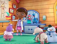 Docteur la peluche : l'hôpital des jouets : Câline et Toufy échangent leurs postes
