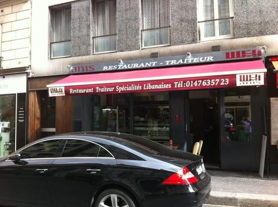 Anis   © restaurant anis
