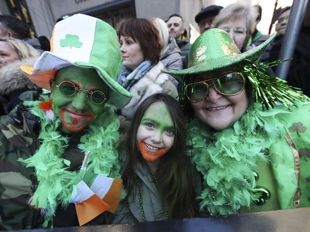 Les images de la Saint-Patrick 2018