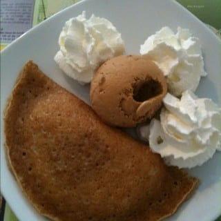 Dessert : Sofish  - Chausson aux pommes chaud avec boule de glace. -