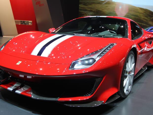 La Ferrari 488Pista en photos