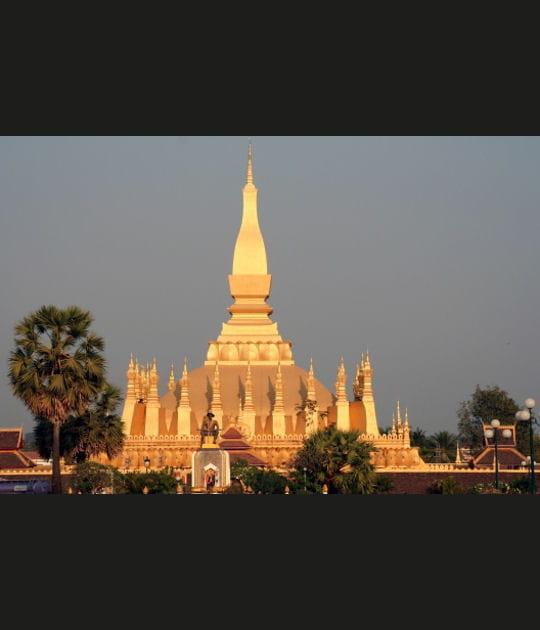 Le Pha That Luang à Vientiane