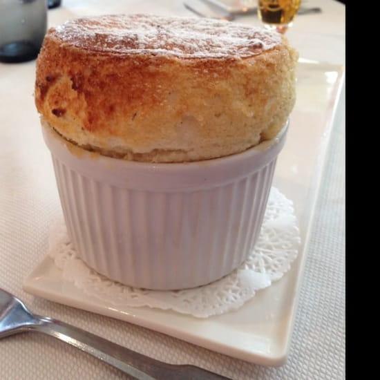 Dessert : Le Vivier Côté Bistro  - Un soufflé au grand Marnier exceptionnel... -