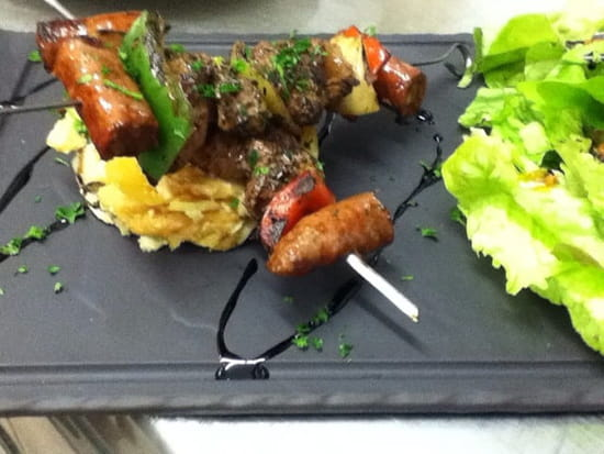 Restaurant : Airial  - Spécialités brochettes -
