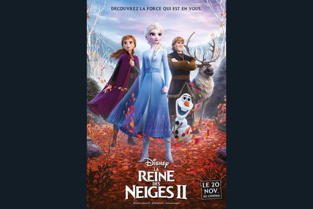 La Reine des Neiges 2affiche française