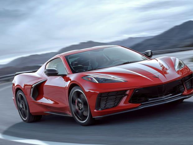 Les photos de la nouvelle Chevrolet Corvette