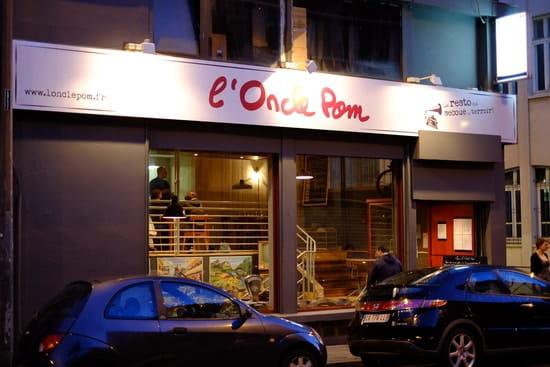 L'Oncle Pom  - Logo -   © Romain Vaugeois