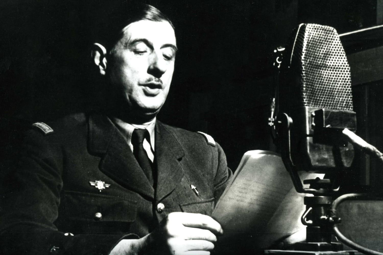 Appel du 18juin 1940: discours du Général de Gaulle pour la Résistance