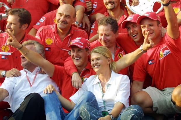 """Famille amis... Qui sont les membres du """"clan"""" Schumacher?"""