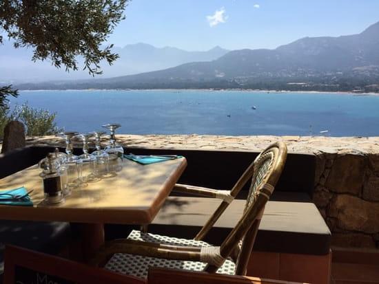 Restaurant : A Candella  - Terrasse du restaurant -