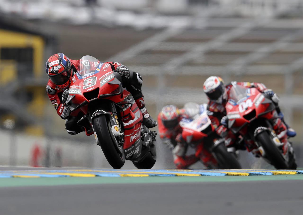 GP de France MotoGP: Petrucci simpose, Quartararo seulement 9e, le résumé de la course