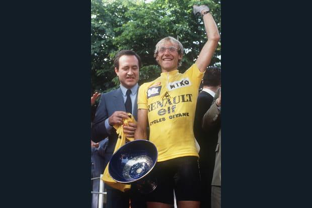 Laurent Fignon en 1983, le jeune premier