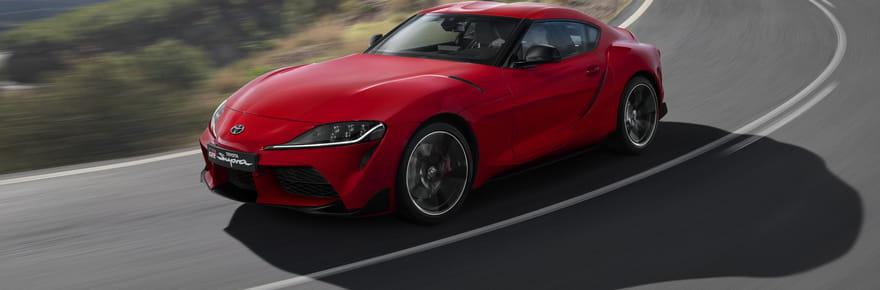 La nouvelle Toyota Supra en images