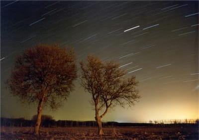 vous n'êtes pas contraint de pointer votre objectif vers le ciel. les étoiles