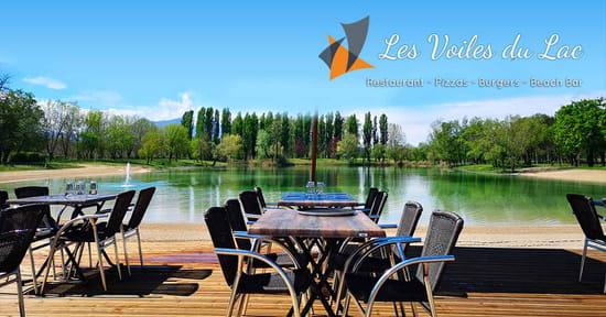 Restaurant : Les Voiles du Lac  - les voiles du lac en terrasse -   © les voiles du lac